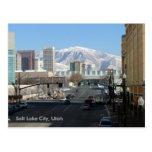 Salt Lake City, Utah Tarjeta Postal