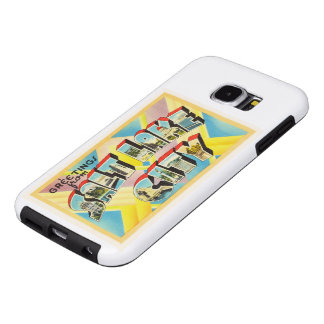 Salt Lake City Utah UT Old Vintage Travel Souvenir Samsung Galaxy S6 Case