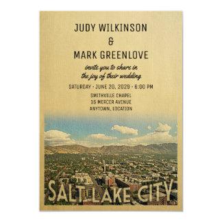 salt lake city wedding invitation utah - Wedding Invitations Utah
