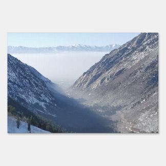 Salt Lake del barranco Señales