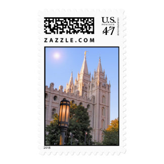 Salt Lake Mormon Temple Postage