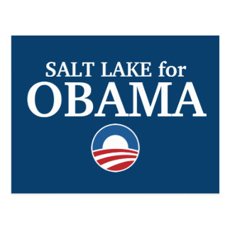SALT LAKE para el personalizado de Obama su ciudad Postal