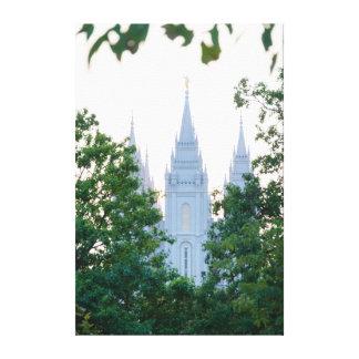 Salt Lake Temple Canvas Print