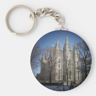 Salt Lake Temple Keychain