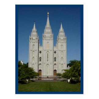 Salt Lake Temple (Salt Lake City, Utah) Postcard
