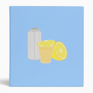 Salt, lemon and tequila binder