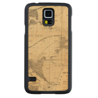 Salt marsh and tide lands carved® maple galaxy s5 slim case