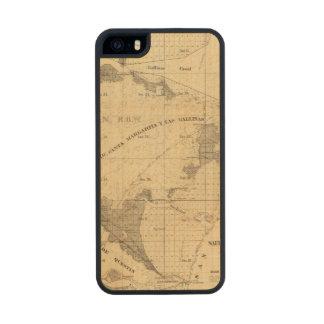 Salt marsh and tide lands carved® maple iPhone 5 slim case