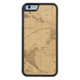 Salt marsh and tide lands carved® maple iPhone 6 bumper case