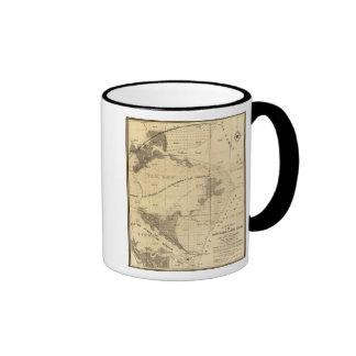 Salt marsh and tide lands coffee mug