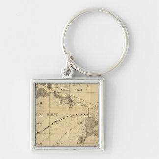 Salt marsh and tide lands key chain