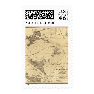 Salt marsh and tide lands postage stamps