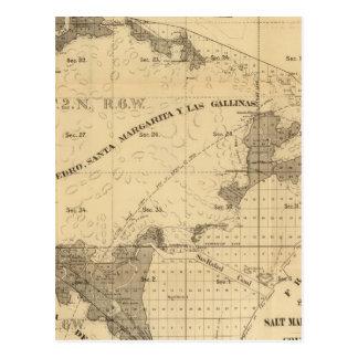 Salt marsh and tide lands postcards