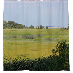 Salt Marsh On Cape Cod Shower Curtain