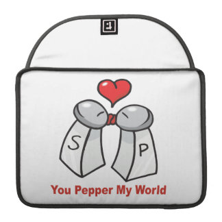 Salt n Pepper Shaker Valentines Sleeve For MacBook Pro