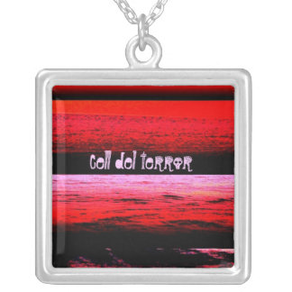 Salt of the Earth Square Pendant Necklace