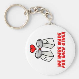 Salt Pepper Keychains