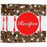 Salt & Pepper Recipe Book Binder