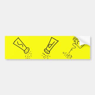 Salt, Pepper, Spray Bumper Sticker