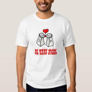 Salt & Pepper Tee Shirts