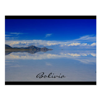 salt plains bolivia postcard
