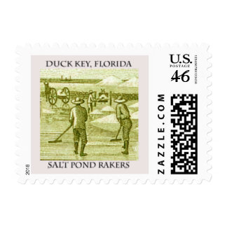 Salt Pond Rakers on Duck Key Stamp