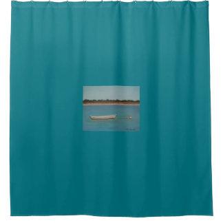 SALT RUN Shower Curtain