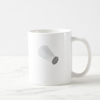 Salt Shaker Classic White Coffee Mug