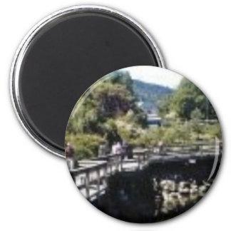 Salt Spring Island 2 Inch Round Magnet