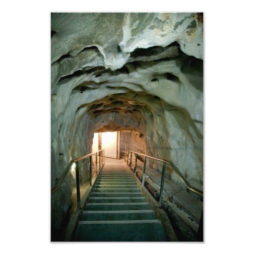 Salt tunnel photo print