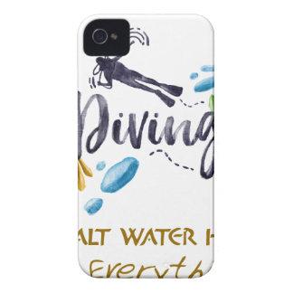 SALT WATER HEALS Everything iPhone 4 Case-Mate Case