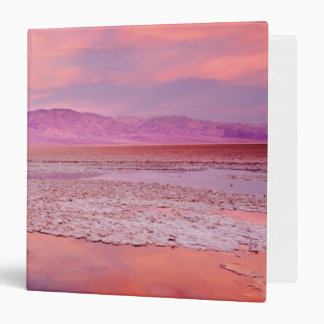 Salt Water Lake Death Valley 3 Ring Binder
