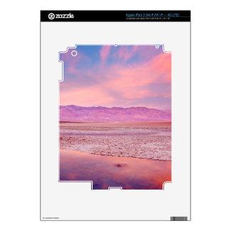 Salt Water Lake Death Valley iPad 3 Skin