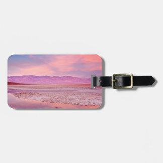 Salt Water Lake Death Valley Luggage Tag