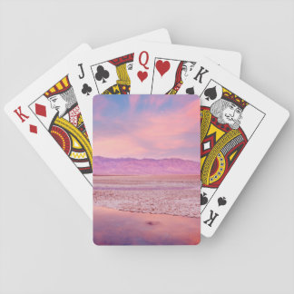 Salt Water Lake Death Valley Playing Cards