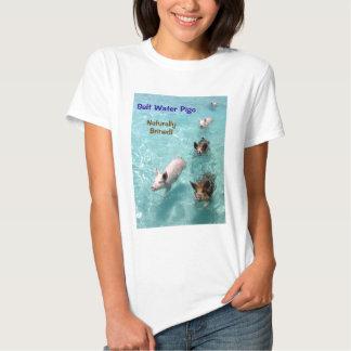 Salt water Pigs- Naturally Brined! T-Shirt