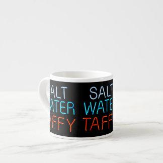 Salt Water Taffy Neon Sign Espresso Cup