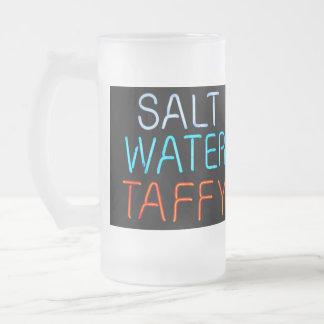 Salt Water Taffy Neon Sign Coffee Mugs
