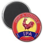 Salta una cerveza del Doodle IPA Imán De Nevera