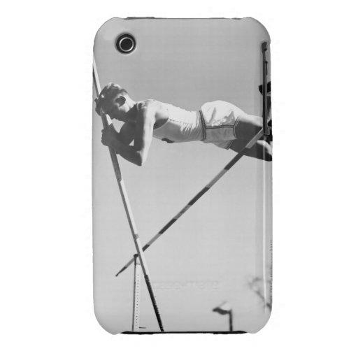 Saltador de poste de sexo masculino funda para iPhone 3 de Case-Mate