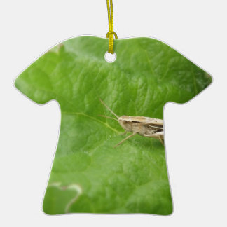 Saltamontes Adorno De Cerámica En Forma De Camiseta
