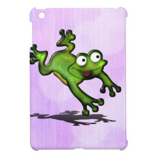 Saltando el personalizar de la rana lindo