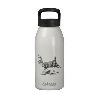 Saltando los ciervos (dólar) botellas de agua reutilizables