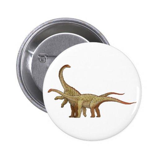 Saltasaurus Pin Redondo 5 Cm