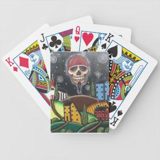 Saltbox de antaño por Lorri Everett Baraja Cartas De Poker