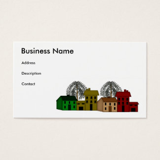 SaltBox & Willow Business Card