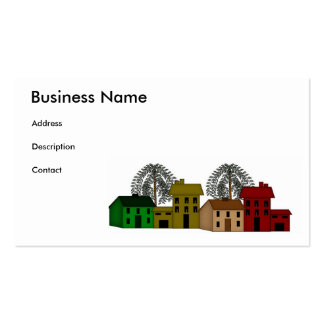 SaltBox Willow Business Card