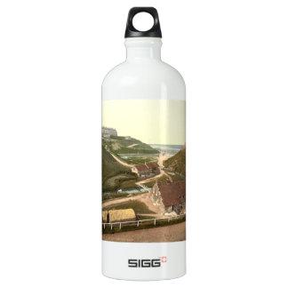 Saltburn-by-the-Sea III, Yorkshire, England Aluminum Water Bottle