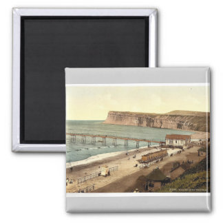 Saltburn-por--Mar, visión general, Yorkshire, Ingl Imán
