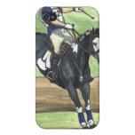 Salte en el agua, Equestrian de Eventing iPhone 4 Protectores